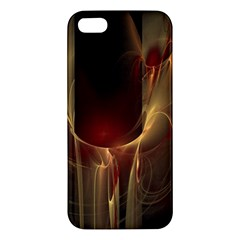 Fractal Image Apple Iphone 5 Premium Hardshell Case by Simbadda