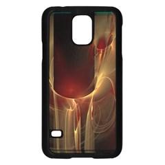Fractal Image Samsung Galaxy S5 Case (black) by Simbadda