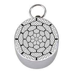 Grillage Mini Silver Compasses by Simbadda