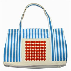Icon Library Web Icons Internet Social Networks Striped Blue Tote Bag by Simbadda
