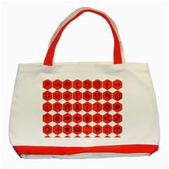 Icon Library Web Icons Internet Social Networks Classic Tote Bag (red) by Simbadda
