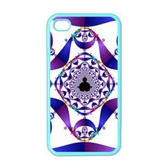 Ring Segments Apple Iphone 4 Case (color) by Simbadda