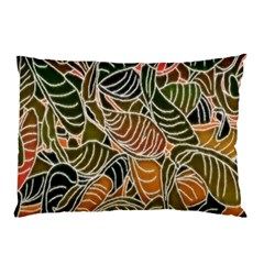 Floral Pattern Background Pillow Case (two Sides) by Simbadda