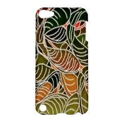 Floral Pattern Background Apple Ipod Touch 5 Hardshell Case by Simbadda