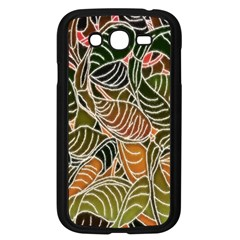 Floral Pattern Background Samsung Galaxy Grand Duos I9082 Case (black) by Simbadda