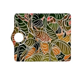 Floral Pattern Background Kindle Fire Hdx 8 9  Flip 360 Case by Simbadda