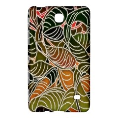 Floral Pattern Background Samsung Galaxy Tab 4 (8 ) Hardshell Case  by Simbadda