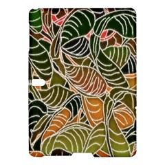 Floral Pattern Background Samsung Galaxy Tab S (10 5 ) Hardshell Case  by Simbadda