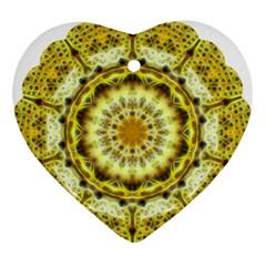 Fractal Flower Ornament (heart) by Simbadda