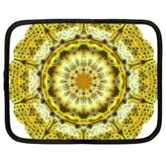 Fractal Flower Netbook Case (xxl)  by Simbadda