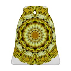 Fractal Flower Bell Ornament (two Sides) by Simbadda