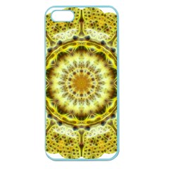 Fractal Flower Apple Seamless Iphone 5 Case (color) by Simbadda