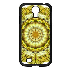 Fractal Flower Samsung Galaxy S4 I9500/ I9505 Case (black) by Simbadda