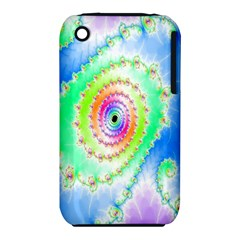 Decorative Fractal Spiral Iphone 3s/3gs by Simbadda