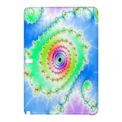 Decorative Fractal Spiral Samsung Galaxy Tab Pro 12 2 Hardshell Case by Simbadda