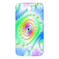 Decorative Fractal Spiral Samsung Galaxy Mega I9200 Hardshell Back Case by Simbadda