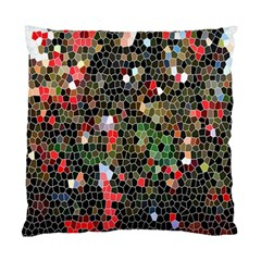 Colorful Abstract Background Standard Cushion Case (one Side) by Simbadda