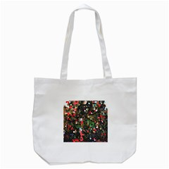 Colorful Abstract Background Tote Bag (white) by Simbadda