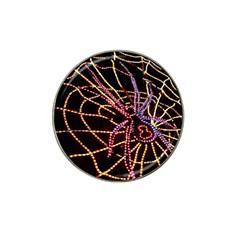 Black Widow Spider, Yellow Web Hat Clip Ball Marker (10 Pack) by Simbadda