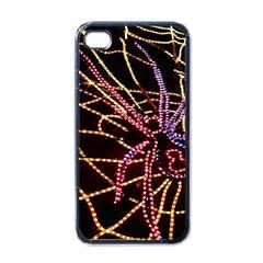 Black Widow Spider, Yellow Web Apple Iphone 4 Case (black) by Simbadda