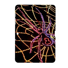 Black Widow Spider, Yellow Web Samsung Galaxy Tab 2 (10 1 ) P5100 Hardshell Case  by Simbadda