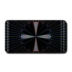 Fractal Rays Medium Bar Mats by Simbadda