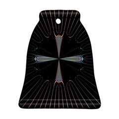 Fractal Rays Bell Ornament (two Sides) by Simbadda