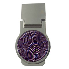 Abstract Colorful Spheres Money Clips (round)  by Simbadda