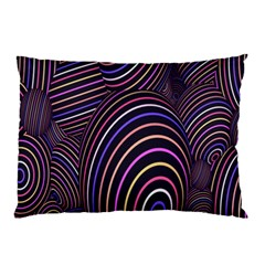 Abstract Colorful Spheres Pillow Case (two Sides) by Simbadda