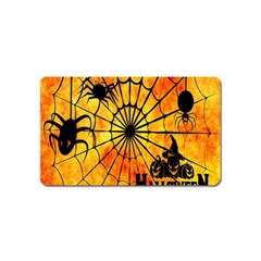 Halloween Weird  Surreal Atmosphere Magnet (name Card) by Simbadda