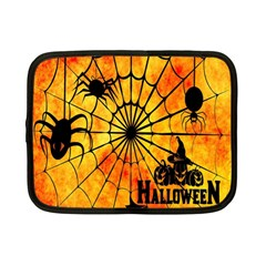 Halloween Weird  Surreal Atmosphere Netbook Case (small)  by Simbadda