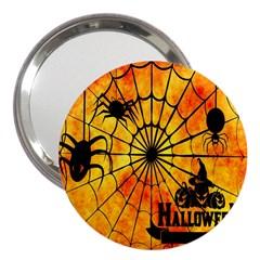 Halloween Weird  Surreal Atmosphere 3  Handbag Mirrors by Simbadda