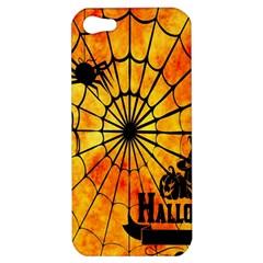 Halloween Weird  Surreal Atmosphere Apple Iphone 5 Hardshell Case by Simbadda