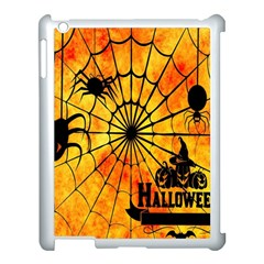 Halloween Weird  Surreal Atmosphere Apple Ipad 3/4 Case (white) by Simbadda