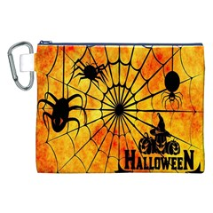 Halloween Weird  Surreal Atmosphere Canvas Cosmetic Bag (xxl) by Simbadda