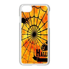 Halloween Weird  Surreal Atmosphere Apple Iphone 7 Seamless Case (white) by Simbadda