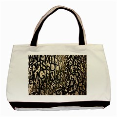 Wallpaper Texture Pattern Design Ornate Abstract Basic Tote Bag by Simbadda