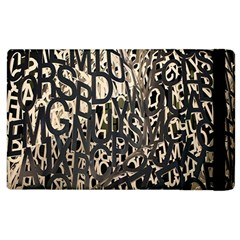 Wallpaper Texture Pattern Design Ornate Abstract Apple Ipad 3/4 Flip Case by Simbadda