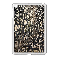 Wallpaper Texture Pattern Design Ornate Abstract Apple Ipad Mini Case (white) by Simbadda