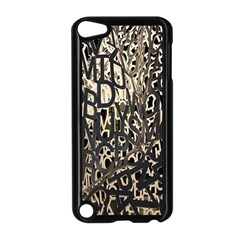 Wallpaper Texture Pattern Design Ornate Abstract Apple Ipod Touch 5 Case (black) by Simbadda