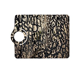 Wallpaper Texture Pattern Design Ornate Abstract Kindle Fire Hd (2013) Flip 360 Case by Simbadda