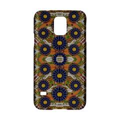 Fleur Flower Porcelaine In Calm Samsung Galaxy S5 Hardshell Case  by pepitasart