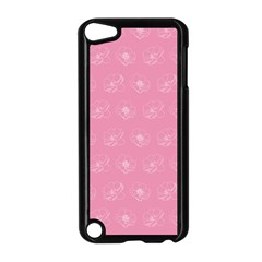Pink Pattern Apple Ipod Touch 5 Case (black) by Valentinaart