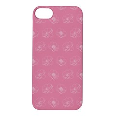 Pink Pattern Apple Iphone 5s/ Se Hardshell Case by Valentinaart
