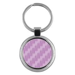 Purple Pattern Key Chains (round)  by Valentinaart