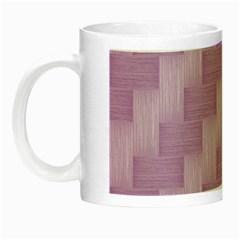 Purple Pattern Night Luminous Mugs by Valentinaart