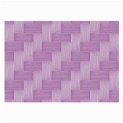 Purple Pattern Large Glasses Cloth (2 Side) by Valentinaart