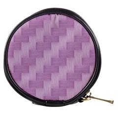 Purple Pattern Mini Makeup Bags by Valentinaart