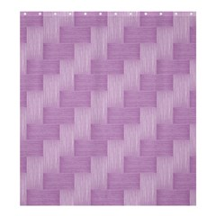 Purple Pattern Shower Curtain 66  X 72  (large)  by Valentinaart