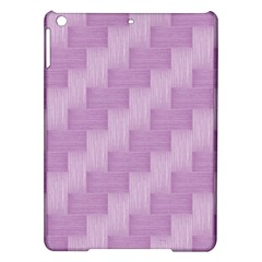 Purple Pattern Ipad Air Hardshell Cases by Valentinaart